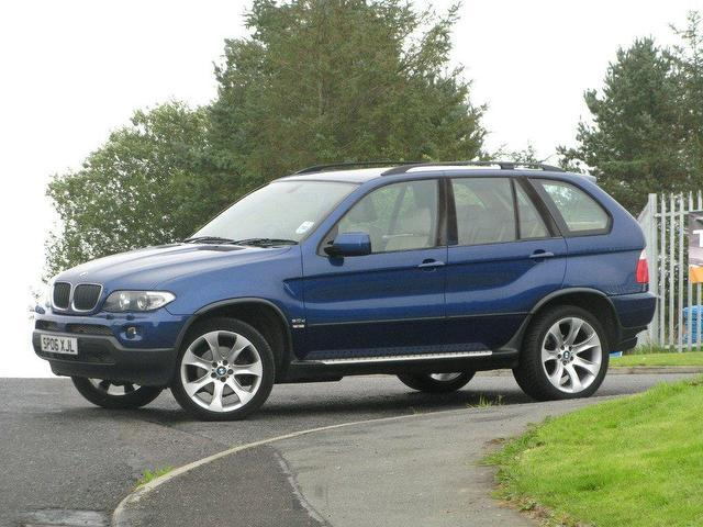 used bmw x5 2006 blue colour diesel sport exclusive edition 4x4 for sale in turrif uk. Black Bedroom Furniture Sets. Home Design Ideas