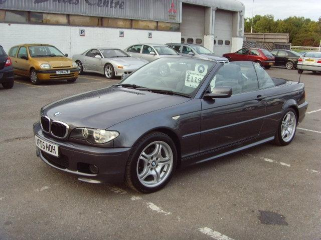 used grey bmw 3 series 2005 petrol 318 ci sport convertible excellent condition for sale autopazar. Black Bedroom Furniture Sets. Home Design Ideas