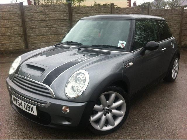 used mini 1 6 2004 petrol cooper s 3dr hatchback grey edition for sale in stoke on trent uk. Black Bedroom Furniture Sets. Home Design Ideas
