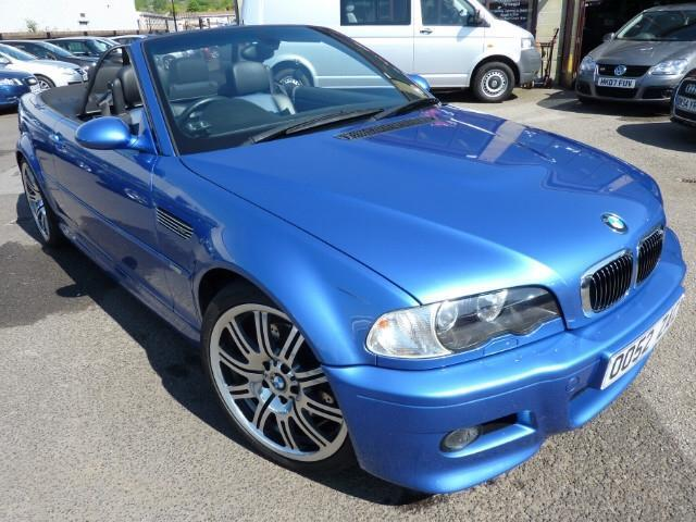 used bmw m3 2003 model 2dr 3 3 petrol convertible blue for sale in penzance uk autopazar. Black Bedroom Furniture Sets. Home Design Ideas