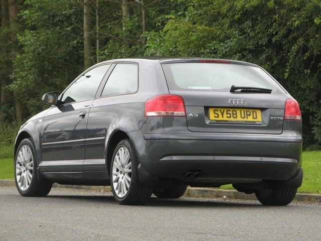 used audi a3 2008 diesel 2 0 tdi se 3dr hatchback grey edition for sale in turrif uk autopazar. Black Bedroom Furniture Sets. Home Design Ideas