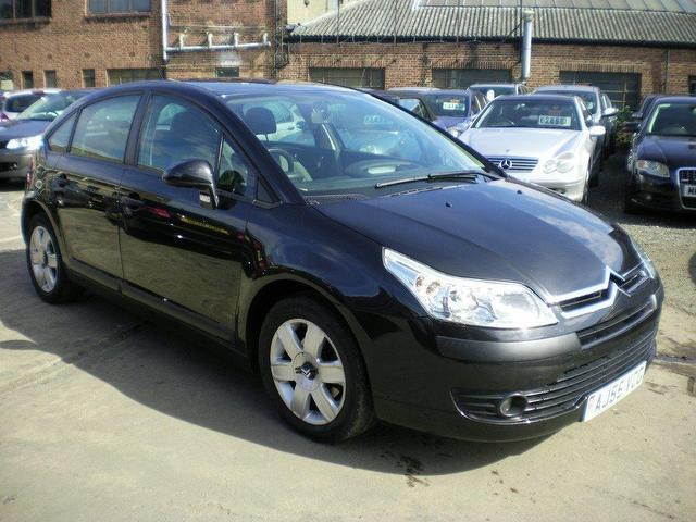 used citroen c4 2005 petrol 16v sx 5dr hatchback black edition for sale in wembley uk. Black Bedroom Furniture Sets. Home Design Ideas