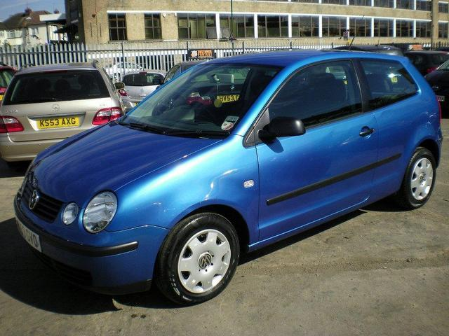 used 2003 volkswagen polo hatchback blue edition 1 4 s 75 3dr petrol for sale in wembley uk. Black Bedroom Furniture Sets. Home Design Ideas