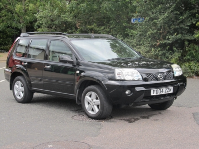 used nissan x trail 2004 black colour petrol for sale in epsom uk rh autopazar co uk manual nissan xtrail 2004 manual nissan x trail 2004 pdf