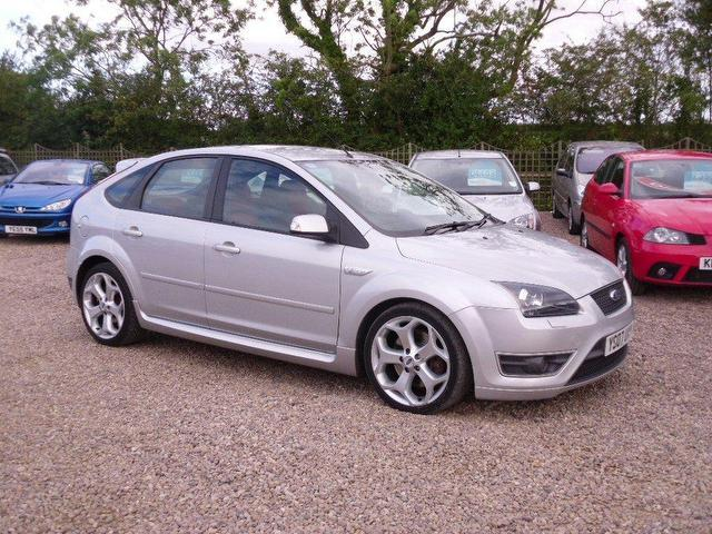 used ford focus 2007 silver hatchback petrol manual for sale
