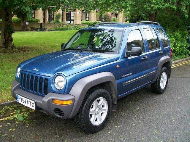 used jeep cherokee 2004 diesel 2 5 crd sport 5dr 4x4 blue for sale in keynsham uk autopazar. Black Bedroom Furniture Sets. Home Design Ideas