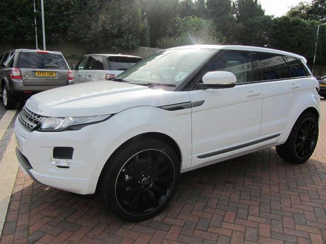 used landrover rover 2012 diesel range evoque 2 2 hatchback white with central locking for sale. Black Bedroom Furniture Sets. Home Design Ideas