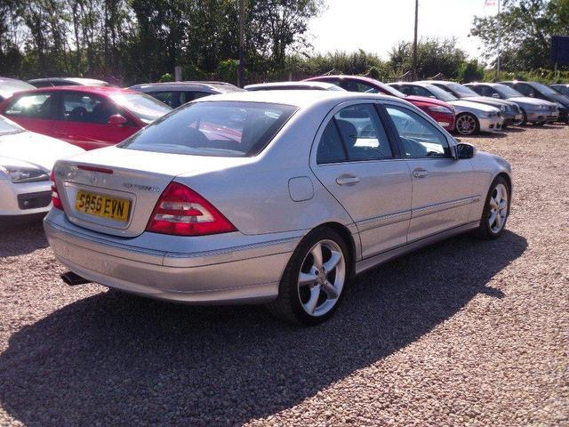 Used mercedes benz car 2006 silver petrol class c180k for Mercedes benz uk used