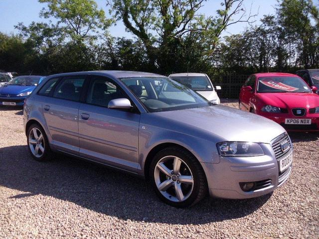 used audi a3 2008 diesel 2 0 tdi sport sat hatchback silver with air conditioning for sale. Black Bedroom Furniture Sets. Home Design Ideas