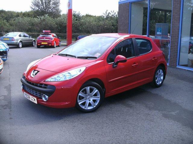 used peugeot 207 2008 red paint diesel 1 6 hdi 90 sport hatchback for sale in oswestry uk. Black Bedroom Furniture Sets. Home Design Ideas