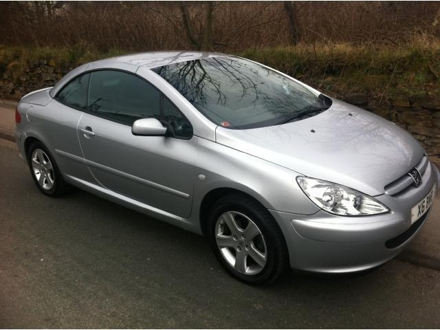 Used Peugeot 307  Silver Convertible Petrol Manual for Sale