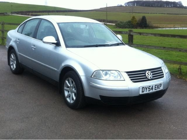Used Volkswagen Passat 2004 Silver Paint Diesel 1 9 Highline Tdi 130 Saloon For Sale In Stoke On