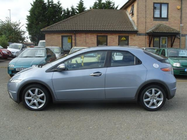 used honda civic car 2006 blue diesel 2 2 i ctdi sport 5 door hatchback for sale in fengate uk. Black Bedroom Furniture Sets. Home Design Ideas