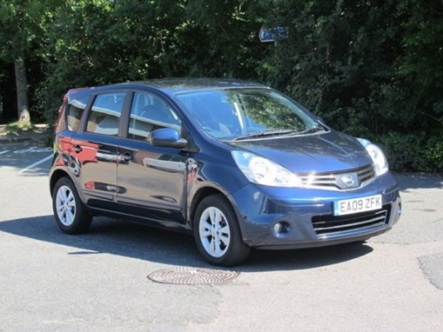 used nissan note 2009 blue paint petrol for sale in epsom uk autopazar. Black Bedroom Furniture Sets. Home Design Ideas