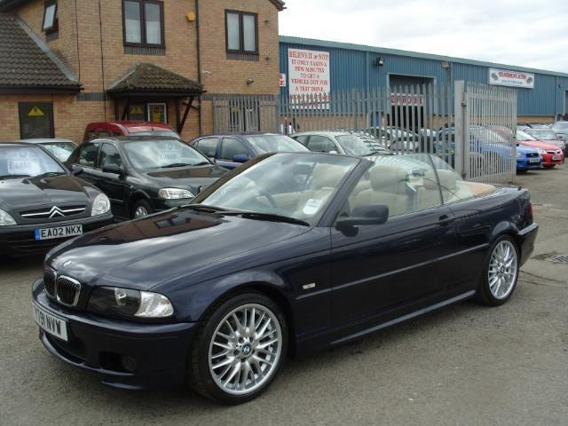 used bmw 3 series 2001 petrol 330 ci 2dr convertible blue edition for sale in fengate uk autopazar. Black Bedroom Furniture Sets. Home Design Ideas