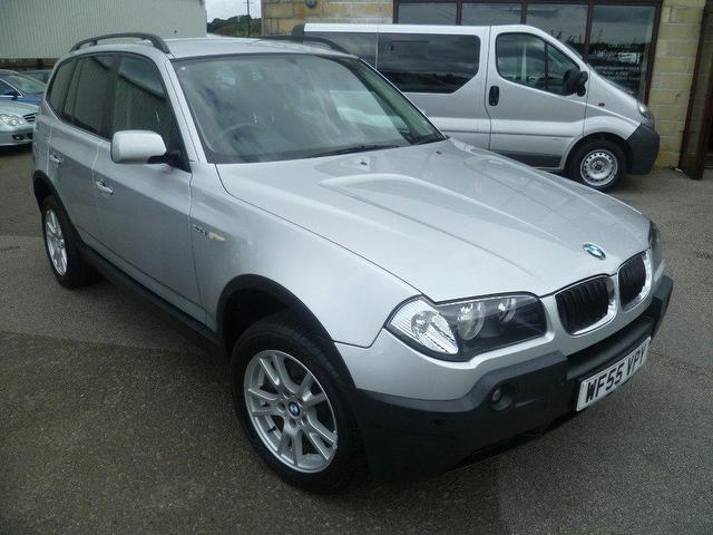 used bmw x3 2005 diesel se 5dr 4x4 silver edition for sale in penzance uk autopazar. Black Bedroom Furniture Sets. Home Design Ideas