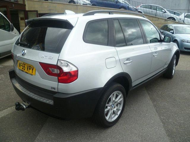 used bmw x3 2005 diesel se 5dr 4x4 silver edition for. Black Bedroom Furniture Sets. Home Design Ideas