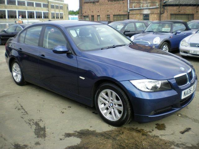 used bmw 3 series 2006 manual diesel 318d se 4 door blue for sale uk autopazar. Black Bedroom Furniture Sets. Home Design Ideas