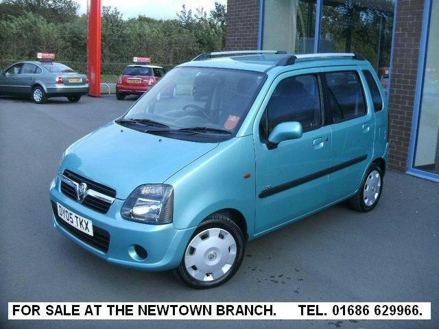 Used Cars For Sale Under 3000 >> Used Vauxhall Agila 2005 Petrol 1.2i 16v Design [80] Estate Green Edition For Sale In Oswestry ...
