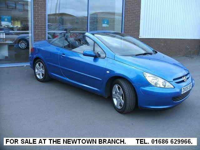 used 2005 peugeot 307 convertible 2 0 2dr climate petrol for sale in oswestry uk autopazar. Black Bedroom Furniture Sets. Home Design Ideas