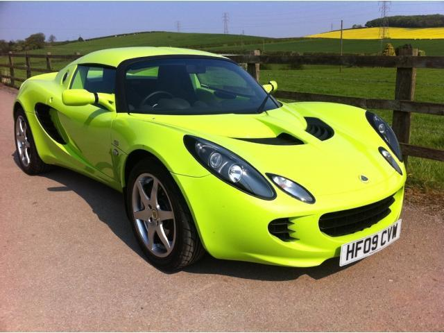 used lotus elise 2009 petrol s 2dr 134 1 8 convertible green edition for sale in stoke on. Black Bedroom Furniture Sets. Home Design Ideas