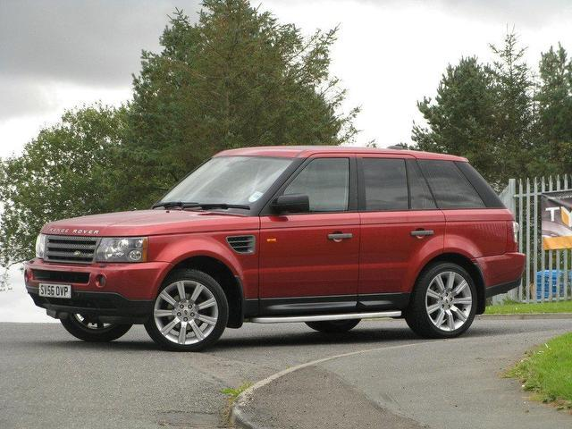 used land rover range 2006 diesel sport 2 7 4x4 red with for sale autopazar. Black Bedroom Furniture Sets. Home Design Ideas