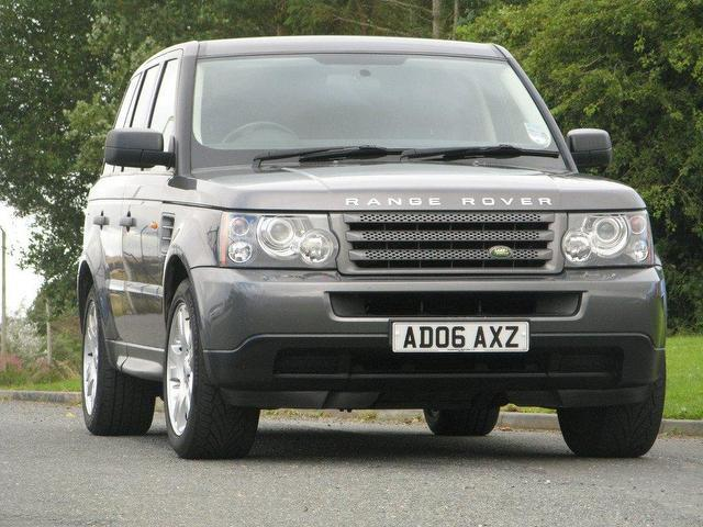used grey land rover range 2006 diesel sport 2 7 4x4 excellent condition for sale autopazar. Black Bedroom Furniture Sets. Home Design Ideas