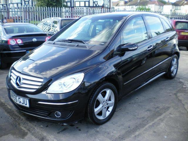 Used mercedes benz 2005 black colour diesel class b180 cdi for Used mercedes benz a class for sale