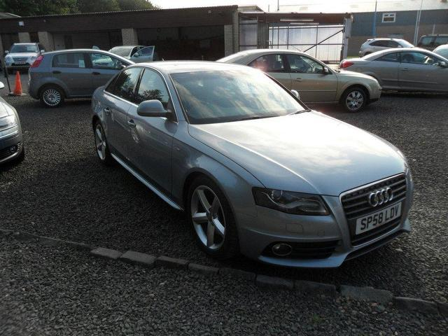 used audi a4 2008 diesel 2 0 tdi 143 s saloon silver edition for sale in inveralmond place uk. Black Bedroom Furniture Sets. Home Design Ideas