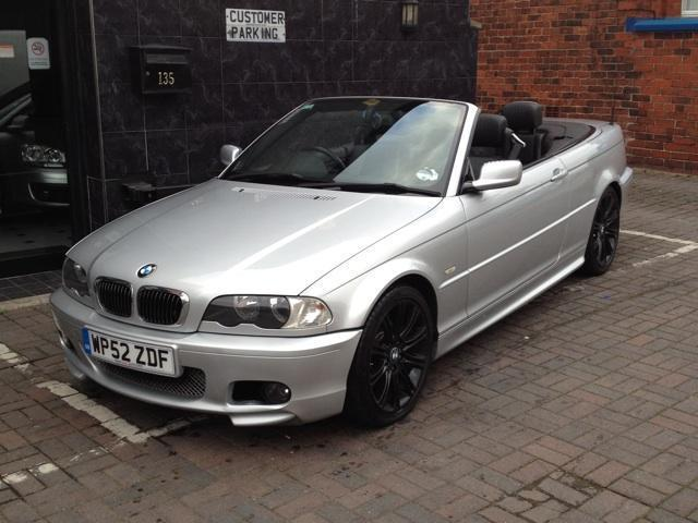 Used Bmw 3 Series 2002 Petrol 325 Ci Sport Convertible Silver ...