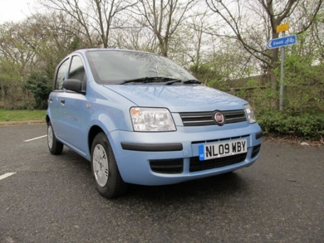 used blue fiat panda 2009 petrol excellent condition for. Black Bedroom Furniture Sets. Home Design Ideas