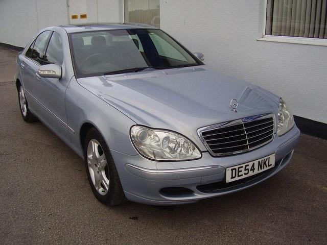 Used 2004 mercedes benz saloon blue edition class s320 cdi for Used mercedes benz diesel for sale