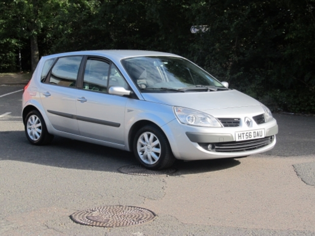 used renault scenic 2007 unleaded silver edition for sale in epsom uk autopazar. Black Bedroom Furniture Sets. Home Design Ideas