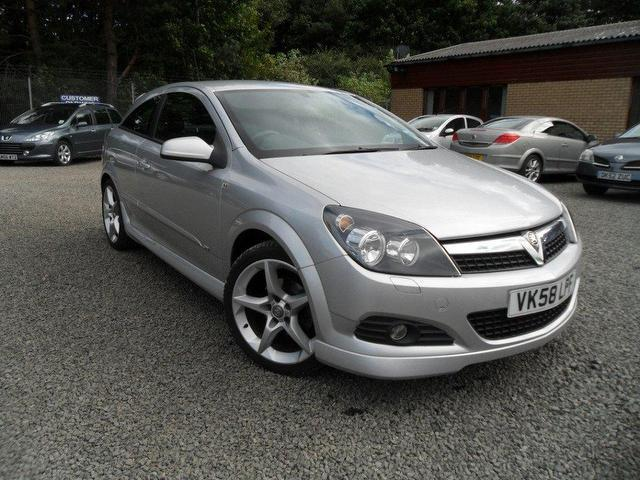 Used Vauxhall Astra 2008 Silver Hatchback Petrol Manual for Sale
