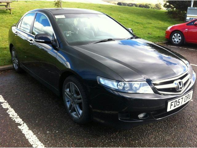 Accord Car Black Net Black Honda Accord 2007