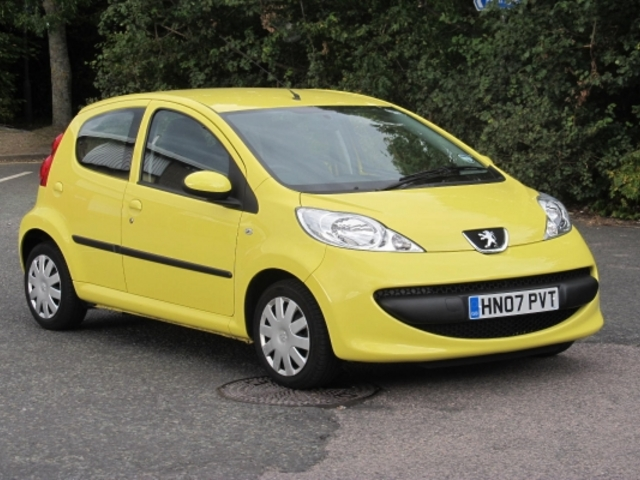 Used Peugeot 107 2007 Petrol Yellow Edition For Sale In