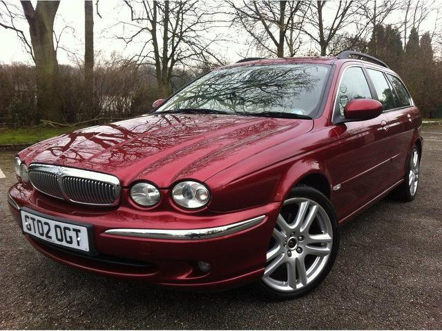 used 2004 jaguar x type estate red edition 2 5 v6 se 5dr. Black Bedroom Furniture Sets. Home Design Ideas