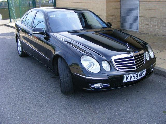 used mercedes benz 2008 black colour diesel class e220 cdi avantgarde saloon for sale in wembley. Black Bedroom Furniture Sets. Home Design Ideas