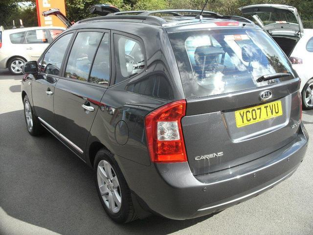 used kia carens 2007 diesel 2 0 crdi ls 5dr estate grey edition for sale in oswestry uk autopazar. Black Bedroom Furniture Sets. Home Design Ideas