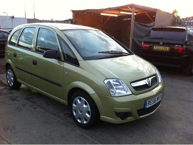 used vauxhall meriva 2006 automatic petrol 16v life 5 door green for sale uk autopazar. Black Bedroom Furniture Sets. Home Design Ideas