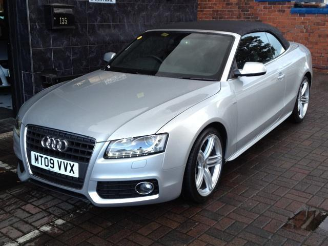 Used 2009 Audi A5 Convertible 2.7 Tdi S Line Diesel For Sale In ...