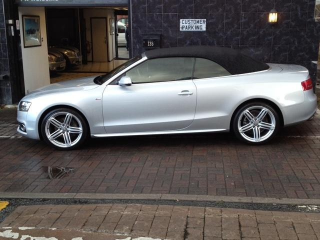 used audi a5 cabriolet for sale uk. Black Bedroom Furniture Sets. Home Design Ideas