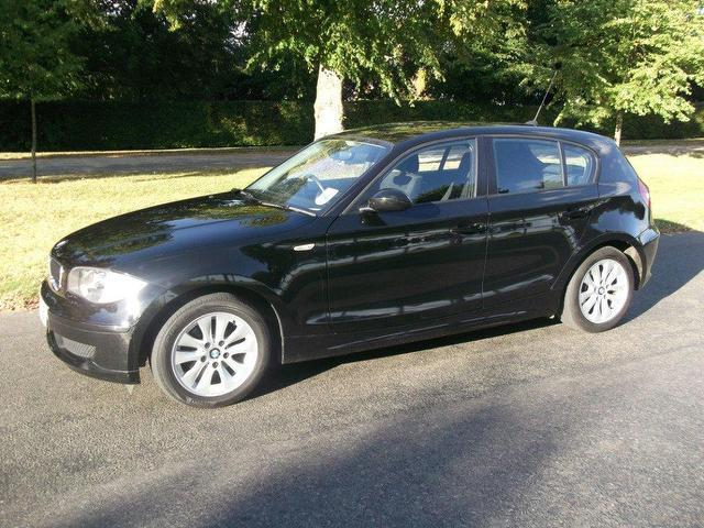 used bmw 1 series car 2007 black petrol 116i es 5 door hatchback for sale in newmarket uk. Black Bedroom Furniture Sets. Home Design Ideas