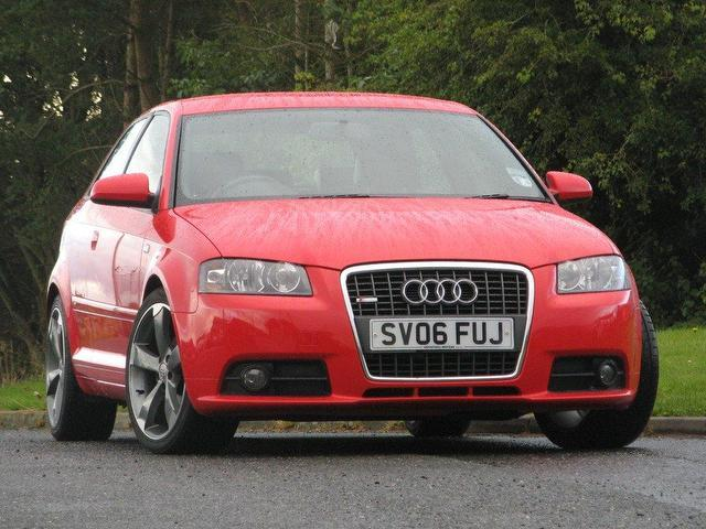 Used Audi a3 2006 Red