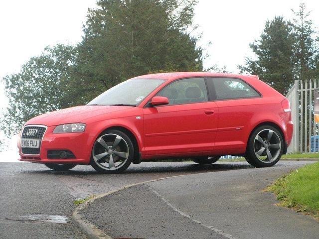 used audi a3 2006 red colour diesel 2 0 tdi quattro s hatchback for sale in turrif uk autopazar. Black Bedroom Furniture Sets. Home Design Ideas