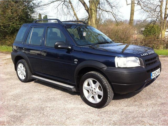 used land rover freelander 2002 manual diesel 2 0 td4 es. Black Bedroom Furniture Sets. Home Design Ideas