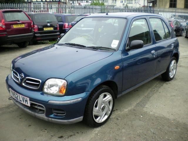 Used 2002 Nissan Micra Hatchback 1 0 S 5dr Petrol For Sale