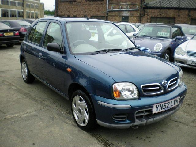 Used Nissan Micra 2002 Blue Hatchback Petrol Manual for Sale