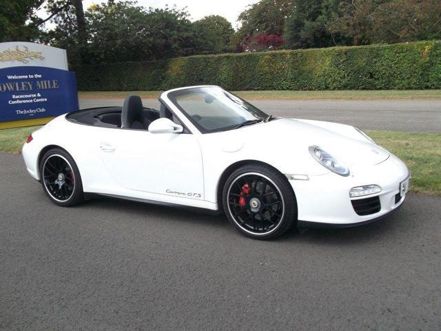 used porsche 911 2011 white colour petrol gts 2 door pdk 997 convertible for sale in newmarket. Black Bedroom Furniture Sets. Home Design Ideas