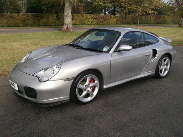 used porsche 911 2003 model turbo 996 s petrol coupe silver for sale